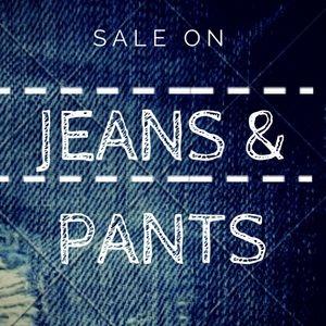 Jeans & Pants Säle